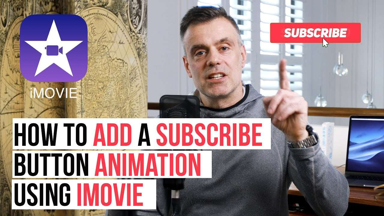 Subscribe Animation in iMovie