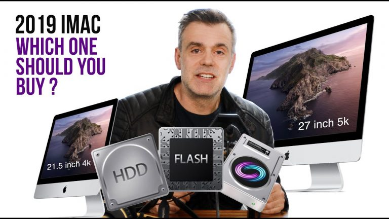 Read more about the article 2019 iMac – Specs, Feature Overview – Fusion and SSD drives explained
