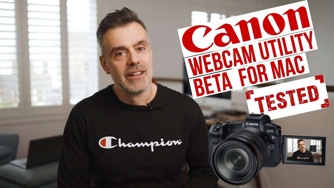 Canon Webcam Utility for Mac OS Now Available