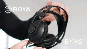 Read more about the article Master your audio like a pro with the Boya HP2 Monitor Headphones
