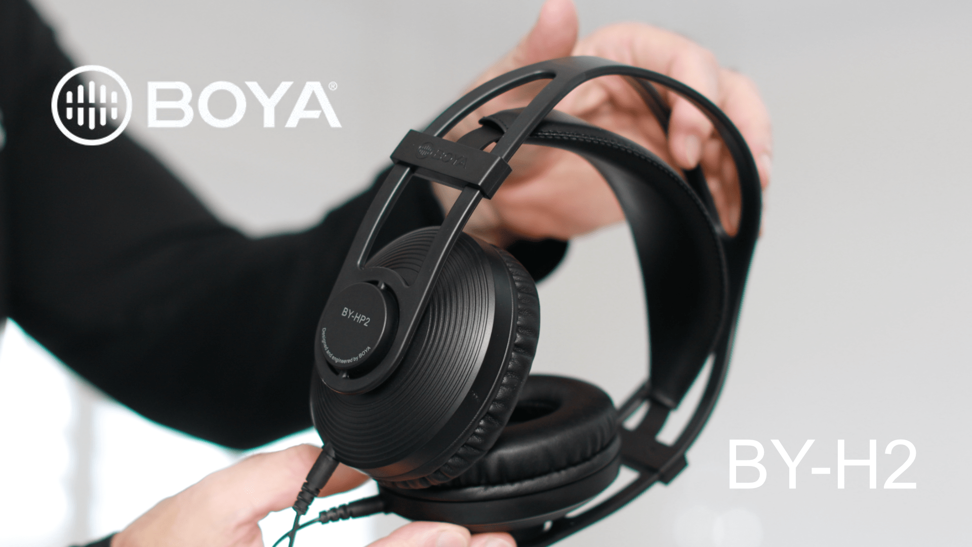 You are currently viewing Master your audio like a pro with the Boya HP2 Monitor Headphones