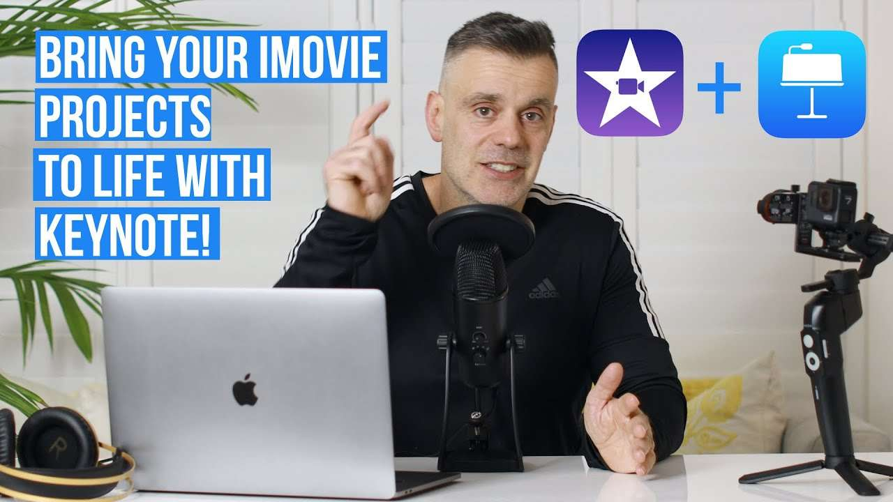 Bring your iMovie projects to life with Keynote