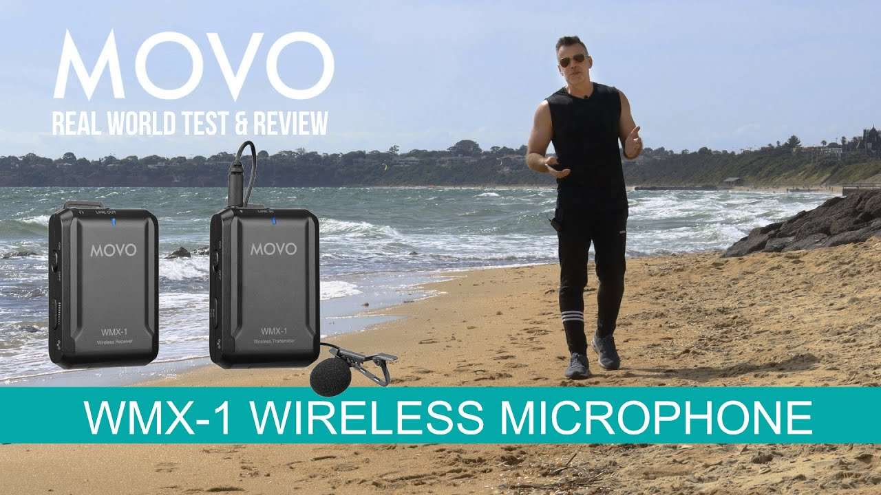 Get better audio indoors and out with the MOVO WMX -1 wireless microphone