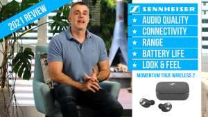 Sennheiser MOMENTUM True Wireless 2 earbuds for iPhone and Android
