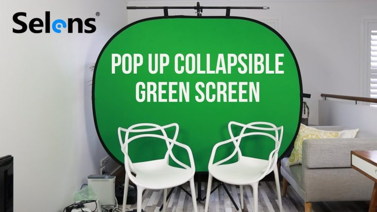 Read more about the article Selens Foldable Green Screen Backdrop for YouTube and Streaming Videos
